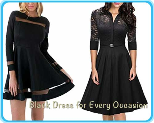 Black Dress for Every Occasion