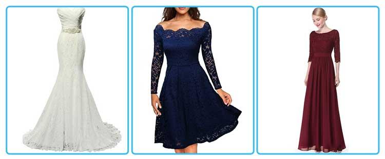 Wedding dress choice