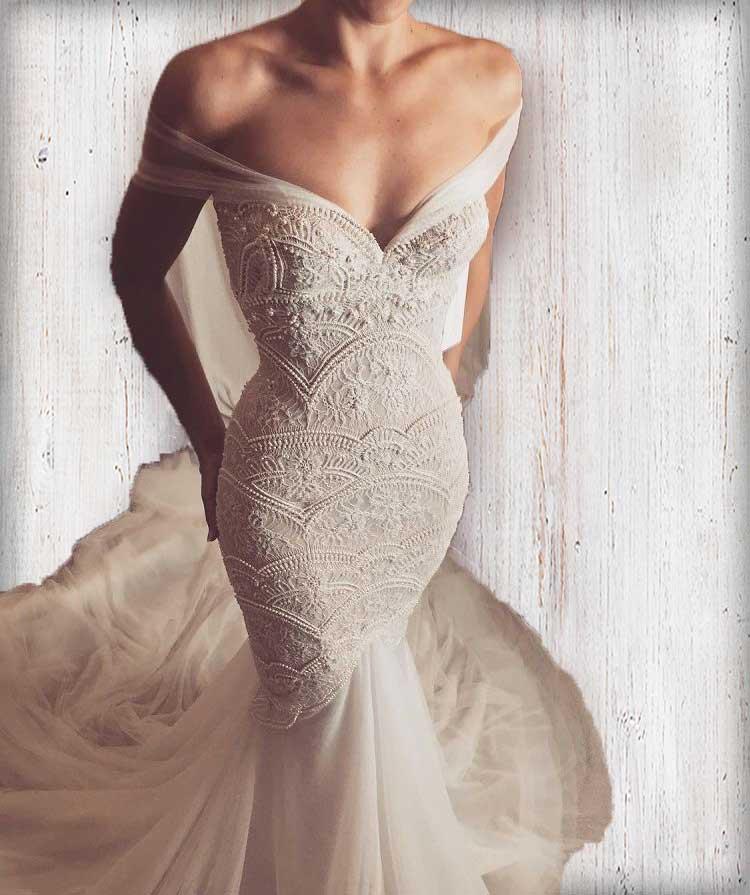 Mermaid wedding dresses tips