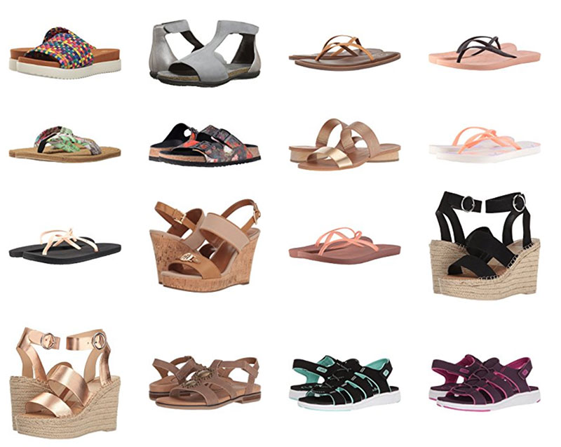 Brand Name Sandals
