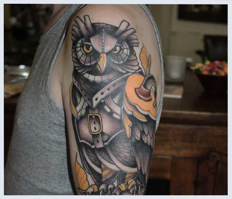 28 Steampunk Tattoo Designs Ideas: 5 Steampunk Tattoo Designs