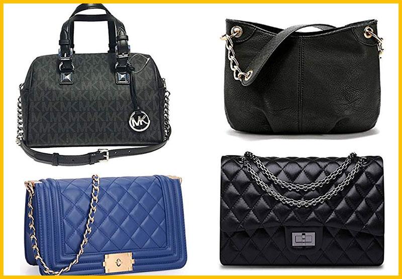 Chain Hardware Handbags