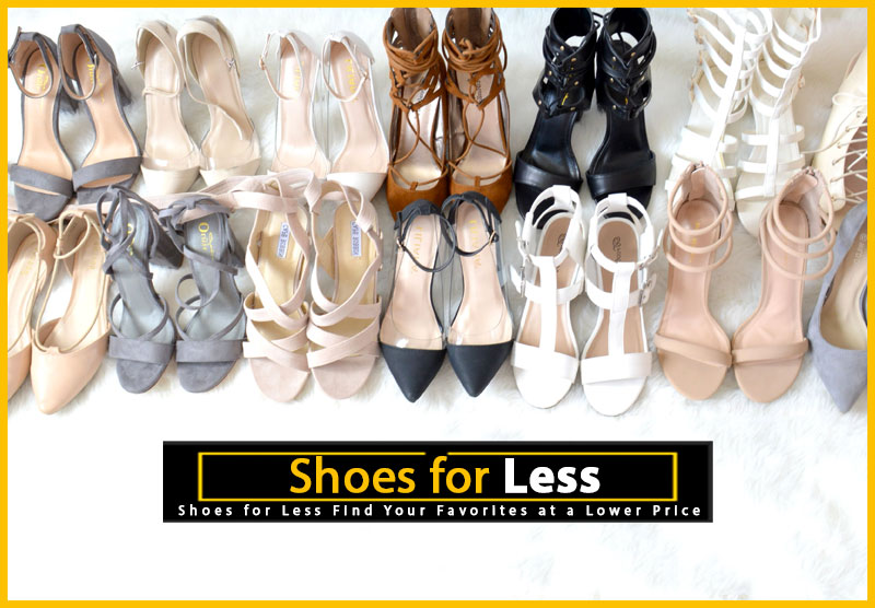 Shoes for Less - Cheap shoes - save money on shoes