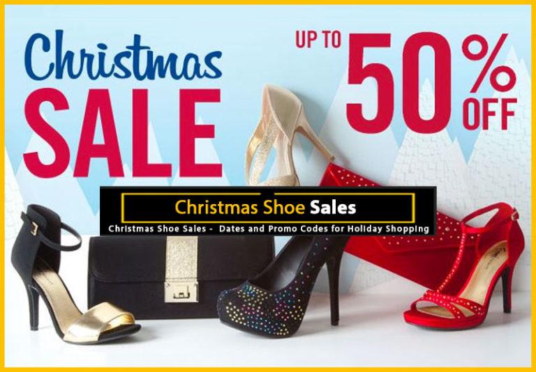 Christmas Shoe Sales 2018