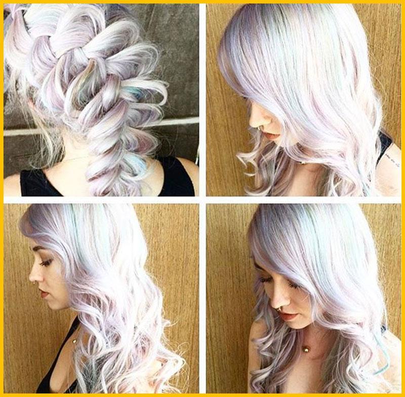"Clouding"" Airbrush Effect Mermaid Hair"