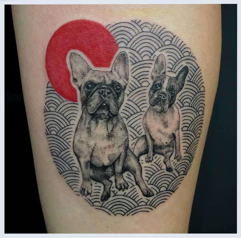 Dogs tattoos