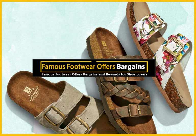 Famous Footwear Offers Bargains
