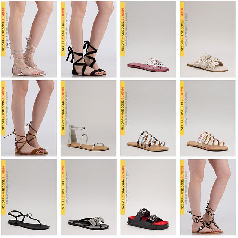 Trendy Sandals under $20