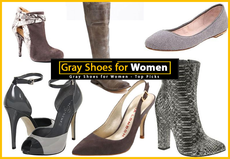 Women's Gray Shoes