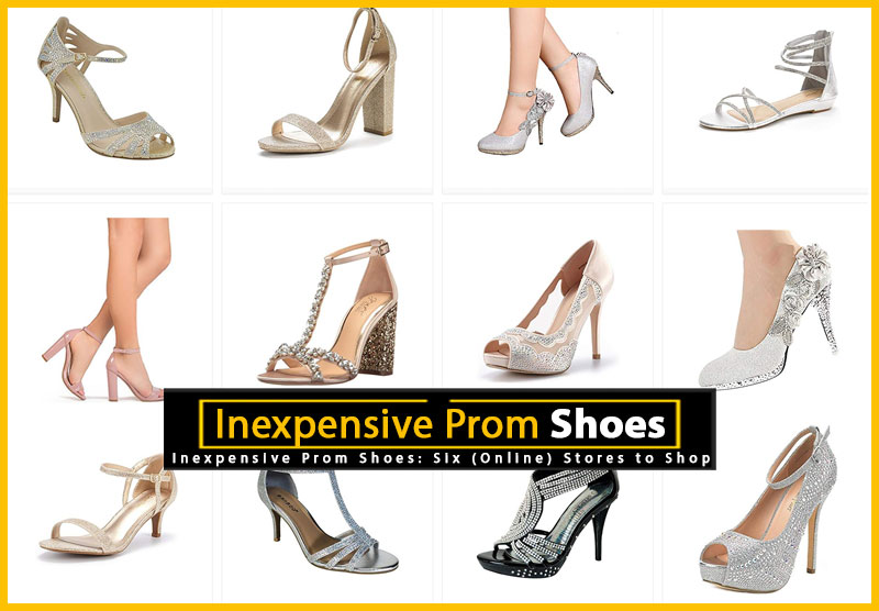 7fe3e6023bb Where to Find Inexpensive Prom Shoes - 6 Online Stores to Shop