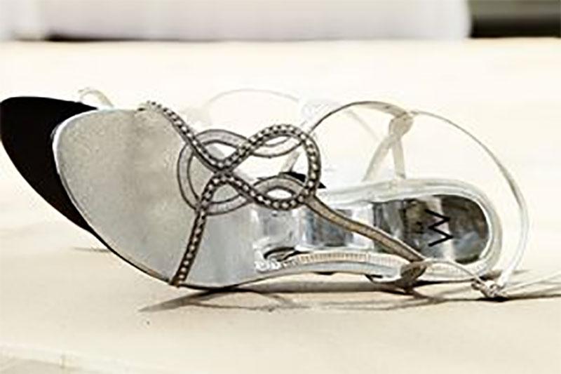 Love Silver Sandals