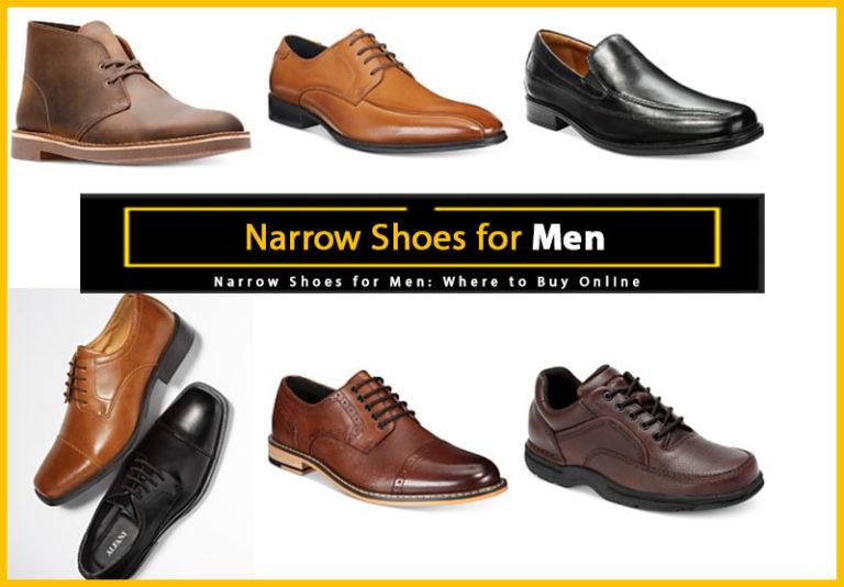 Narrow Shoes for Men