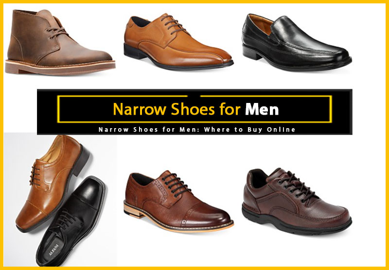 Narrow Shoes for Men