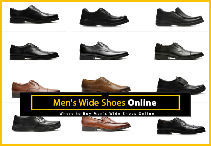 Men's Wide Shoes Online