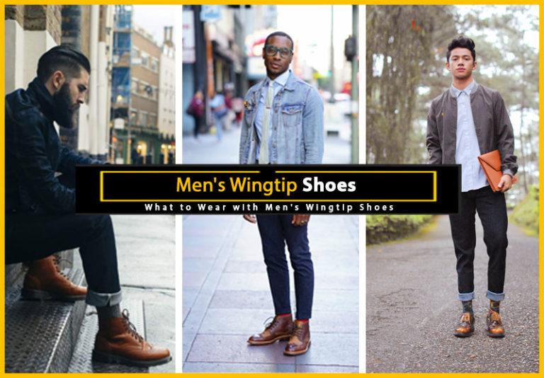 Men's Wingtip Shoes