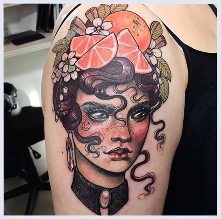 Pin-Up Girl Tattoos