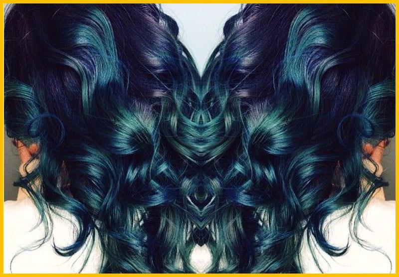 Purple Ombre Mermaid Hair