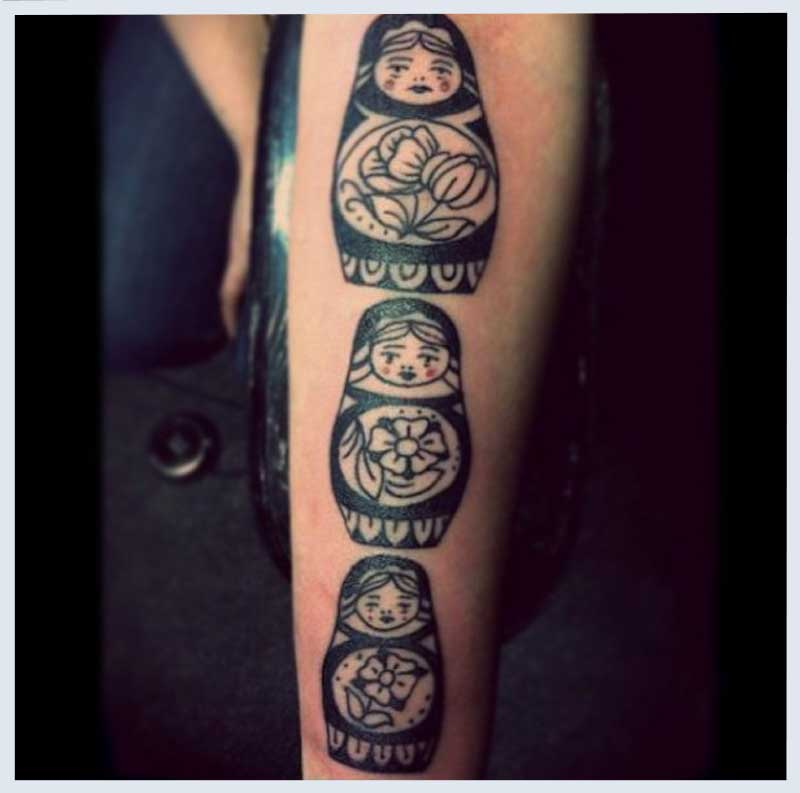Russian Dolls Tattoo