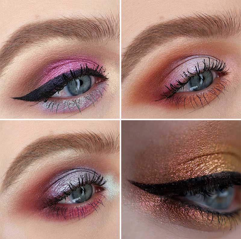 Shimmer Makeup and Skin Tone