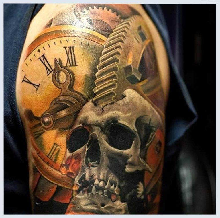 26 Steampunk Tattoo Designs Ideas: Tattoos And Body Piercings Ideas: Design Ideas And Advice