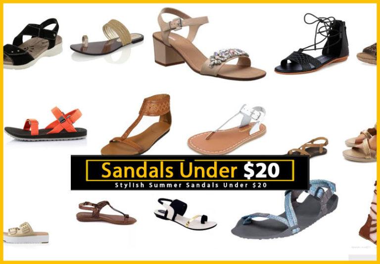 Sandals Under $20