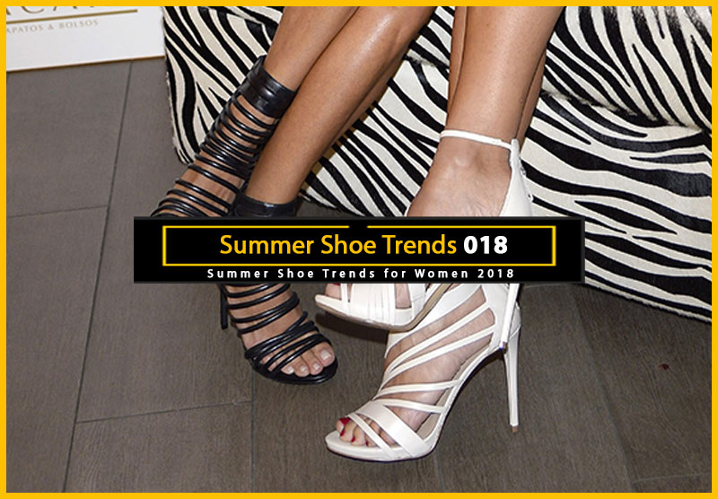 Summer Shoe Trends 2018