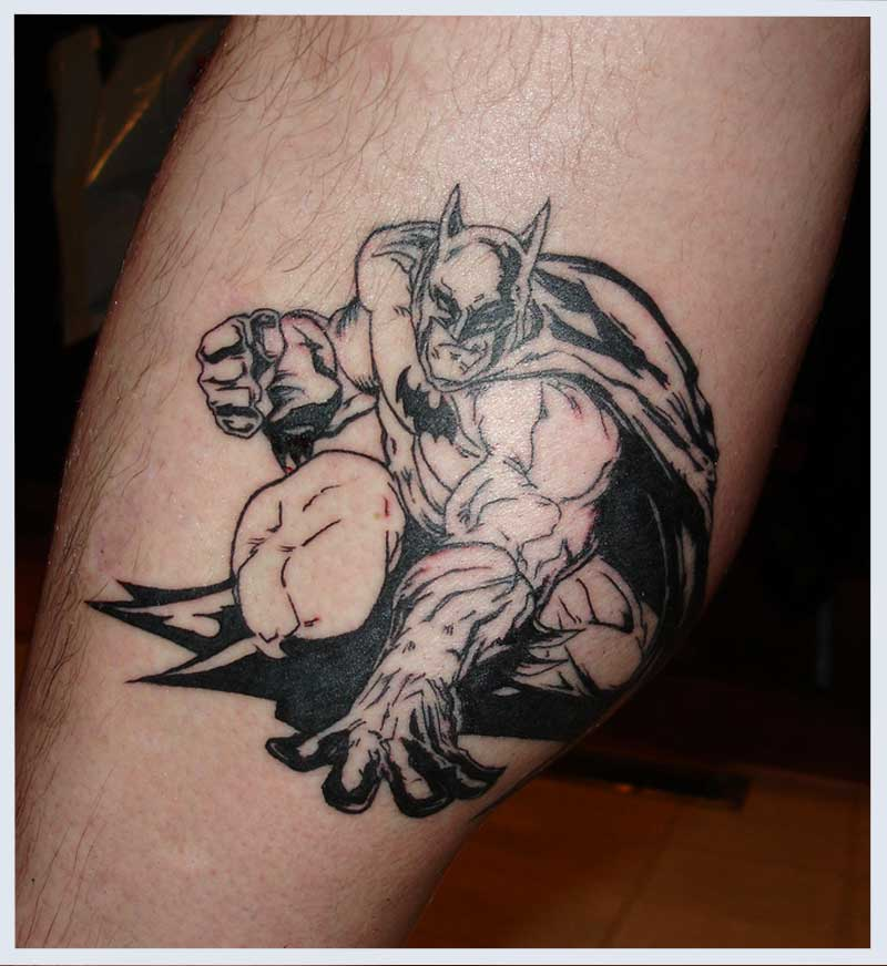 Superheroes Tattoos