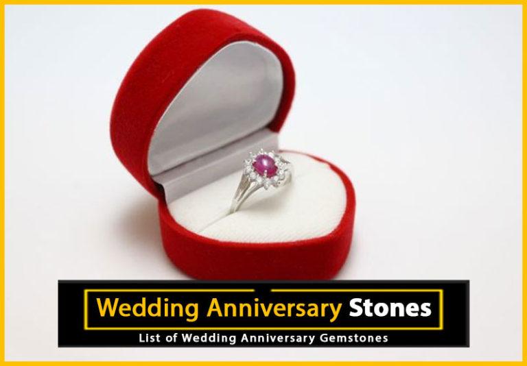 Wedding Anniversary Gemstones