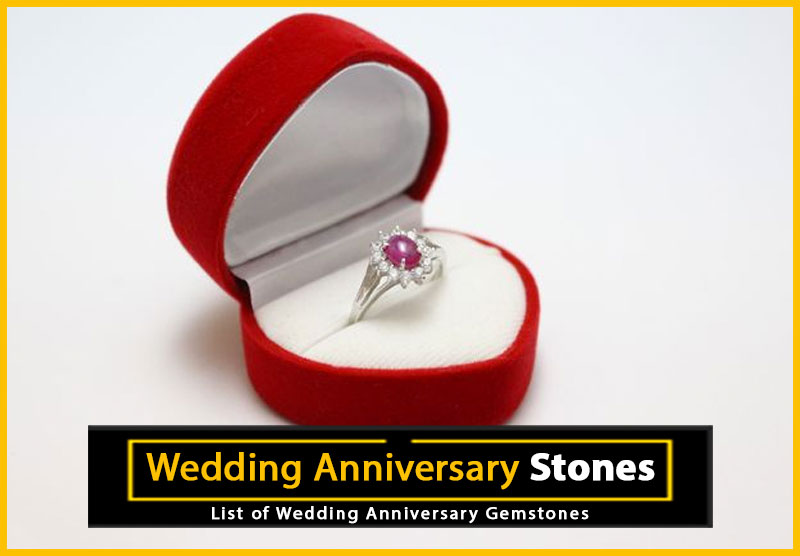 Wedding Anniversary Gemstones