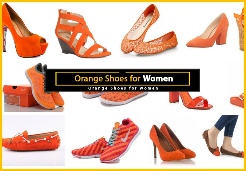 Orange Shoes for Women