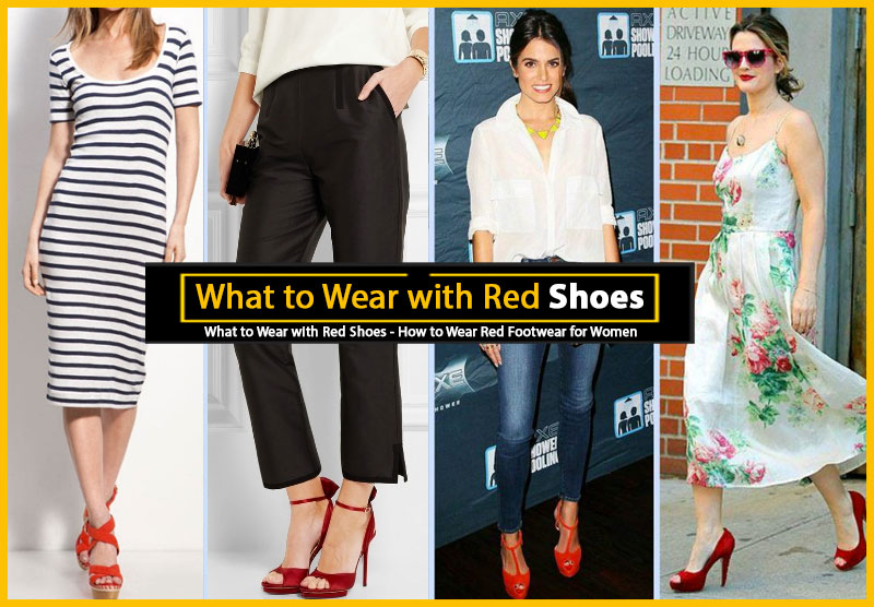 How to Wear Red Shoes