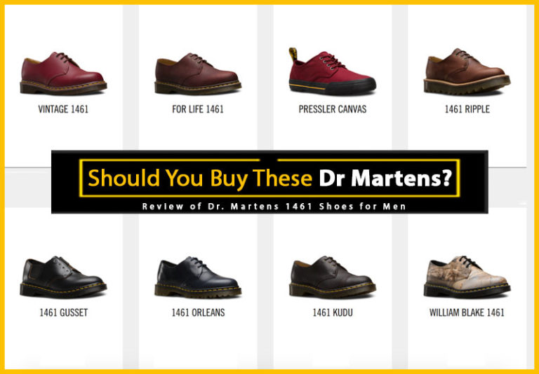 Dr. Martens 1461 Shoes for Men