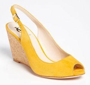 yellow shoes women