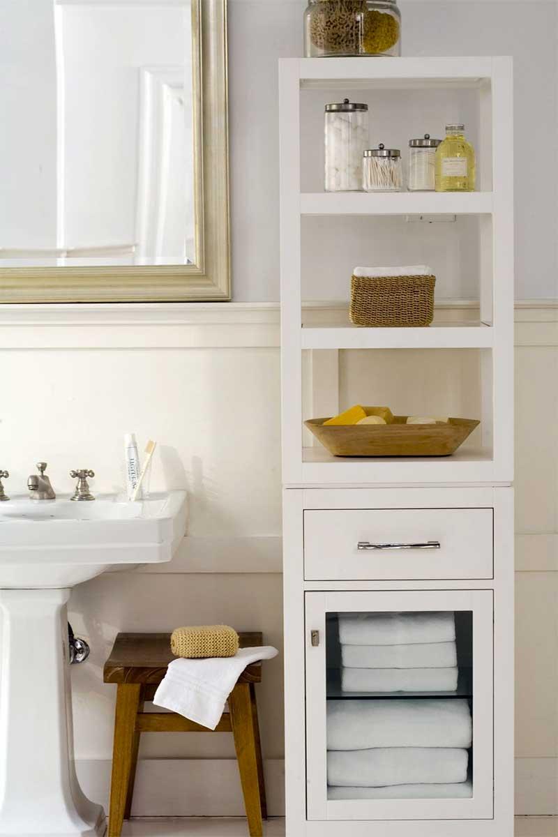 Bathroom Vanity & Medicine Cabinet