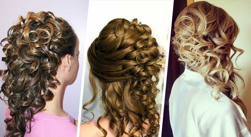 Cascading Curls Hairstyle - face shapes