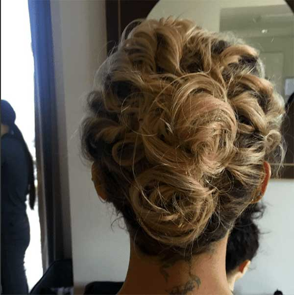 Casual, Mussy Updos