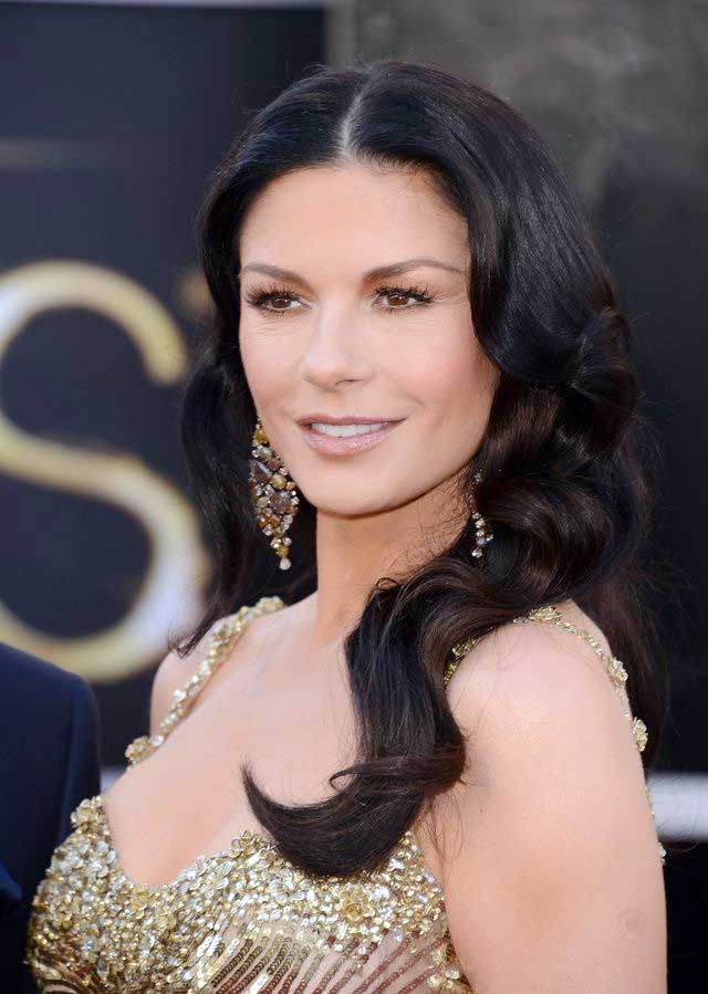 Catherine Zeta-Jones's Black Sultry Color