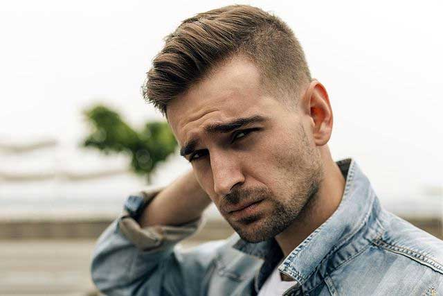 Faded Quiff Haircut - men's hair trend