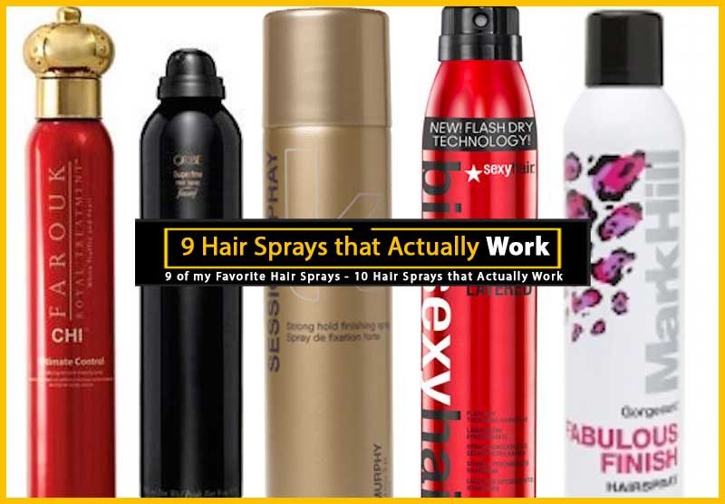 Favorite Hair Sprays
