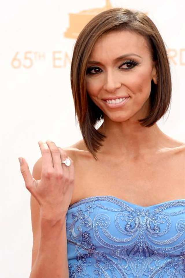 Giullana Rancic's Brown Hair Color
