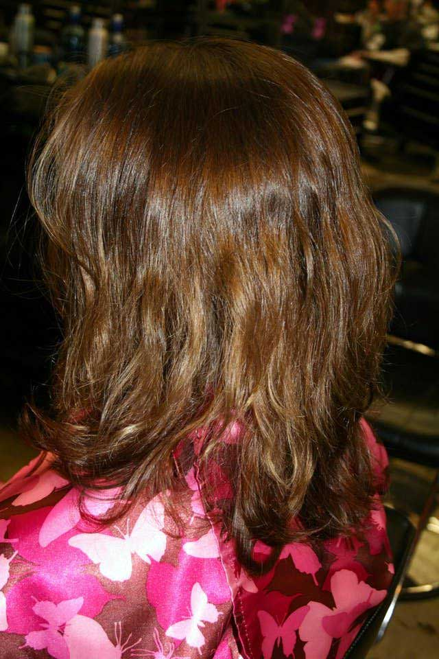 Hair Color Makeover: Your Story
