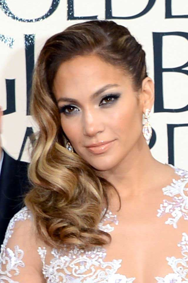 Jennifer Lopez's Ombre Hair Color