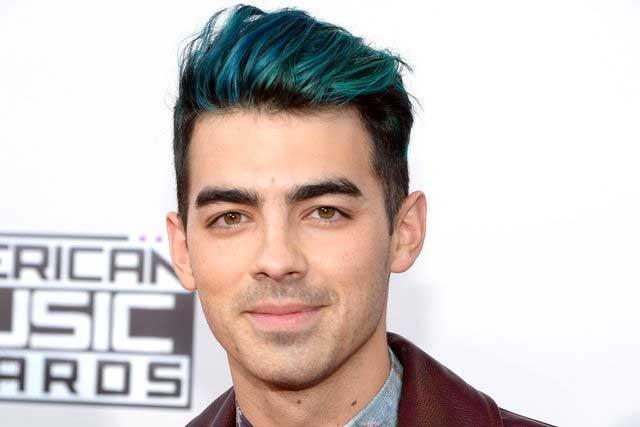 Joe Jonas Blue Hair