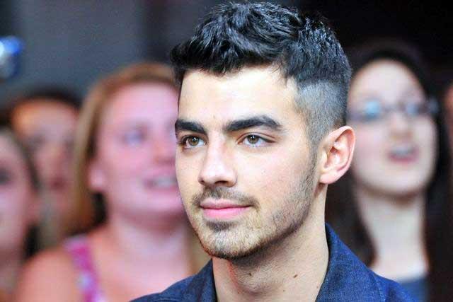 Joe Jonas Whitewall Haircut