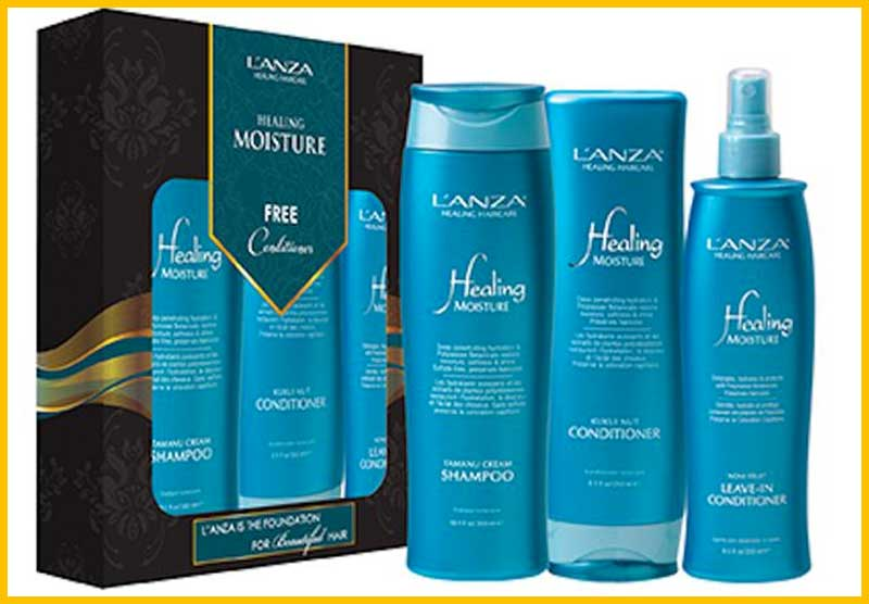 L'anza healing moisture products