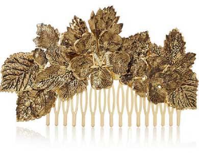 Maison Michel Khloe Gold-Tone Hair Slide