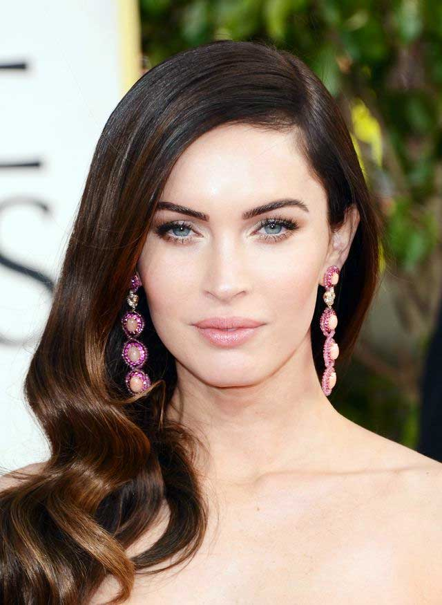 Megan Fox's Deep Brunette Ombre Hair Color