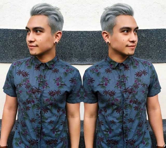 Gray hair trends - mens gray hair