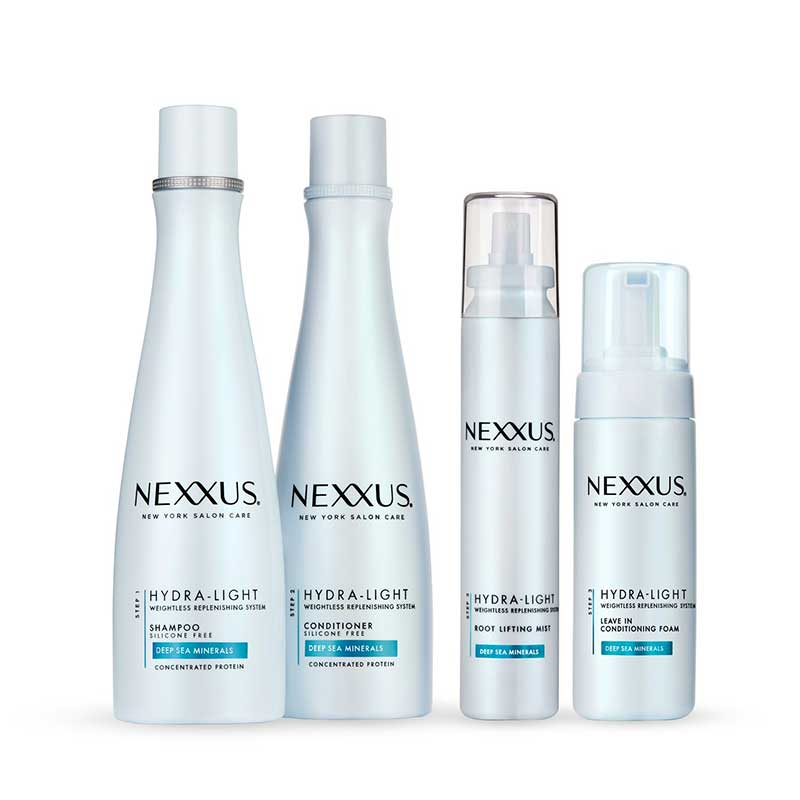 Nexxus Hydra-Light Shampoo and Conditioner