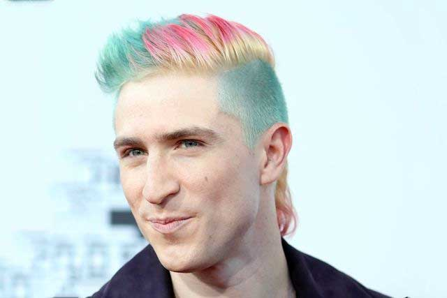 Nicholas Petricca Pastel Merman Hair